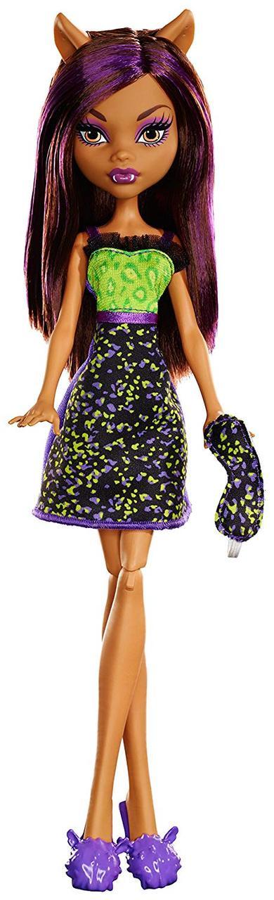 Кукла Monster High Клодин Вулф пижамная, бюджетная, оригинал от Mattel