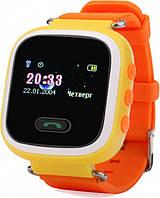 Детские часы с GPS Smart Baby Watch Q80 (Q60s) Yellow