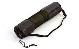 Чехол для йога коврика SP-Planeta FB-3926 (размер 26смx66см, сетка, полиэстер, черный)