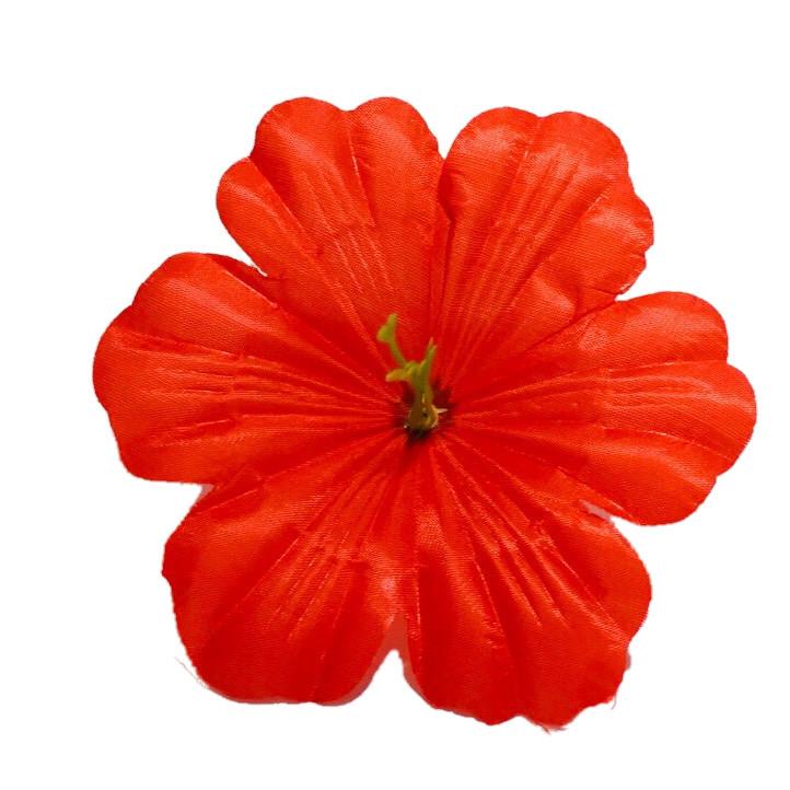 Пресс цветок Мальва 13 см