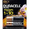 Батарейки Duracell original 1.5v Alkaline AA(LR6) и AAA(LR03) 2 штуки, фото 2