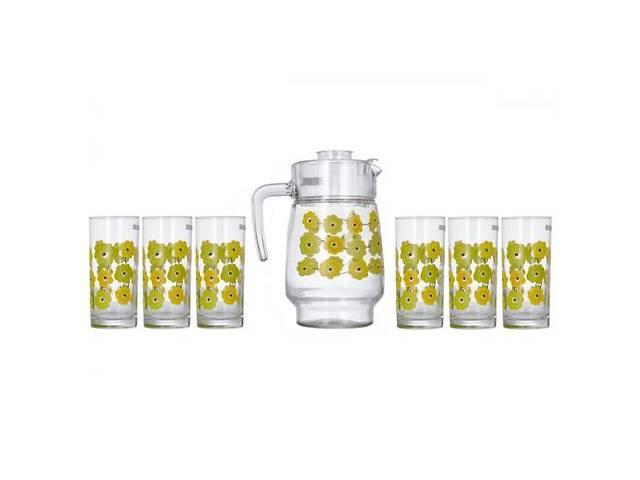 Набор для напитков Luminarc Amsterdam Meline 7пр. (Кувшин 1,8л и 6 стаканов 270 мл)