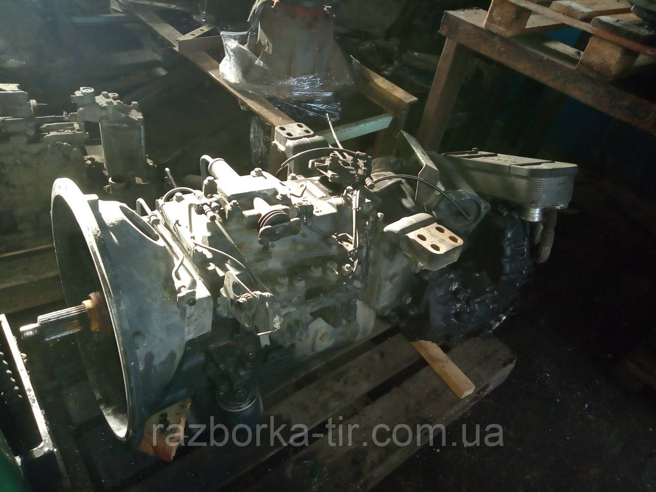 КПП Scania GRS 890R