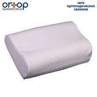 Подушка ортопедическая с эффектом памяти (трехслойная) для взрослых