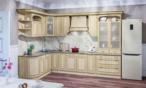 Кухня Валенсия клён патина фото из каталога