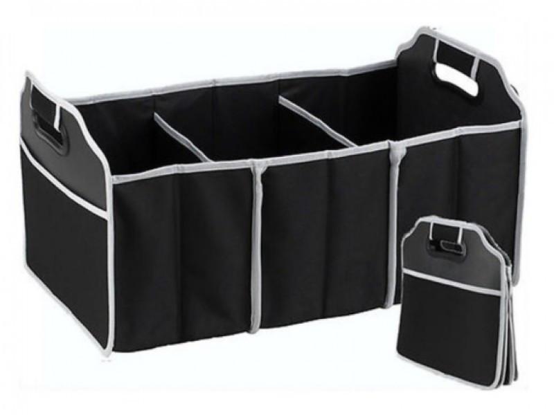 Сумка органайзер для багажного отделения в автомобиль (черная)