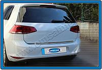 Накладка на дверь багажника (кромка) Volkswagen Golf 7