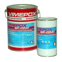 Высокопрочное эпоксидное покрытие, краска для бассейна VIMEPOX SP-COAT, ведро 10 кг