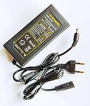 Импульсный адаптер питания 12В 6А. Блок питания LX1206