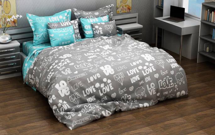Постельное белье Лавли бязь ТМ Комфорт-текстиль Евро, фото 2
