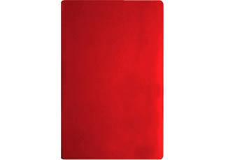 Деловая записная книжка А5 Vivella твердая обложка белый блок красный