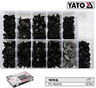 Набір кріплення обшивки салону VOLVO YATO Польща 350 штук YT-06655