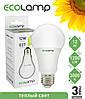LED лампа 12 Вт, E27 теплый свет