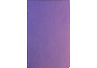 Деловая записная книжка А5 твердая обложка, белый нелинованный блок сиреневый