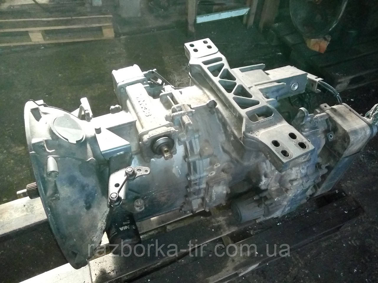 КПП Scania GRS 895R