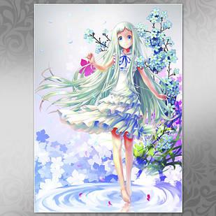 Плакат Аниме Ano Hi Mita Hana no Namae wo Bokutachi wa Mada Shiranai