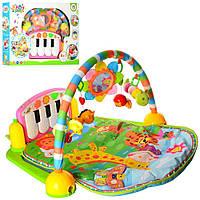 Развивающий коврик для младенца 900*600 мм с пианино PA318-2