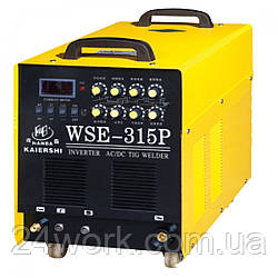 Аргоновий зварювальний апарат по алюмінію Plazma WSE-315P