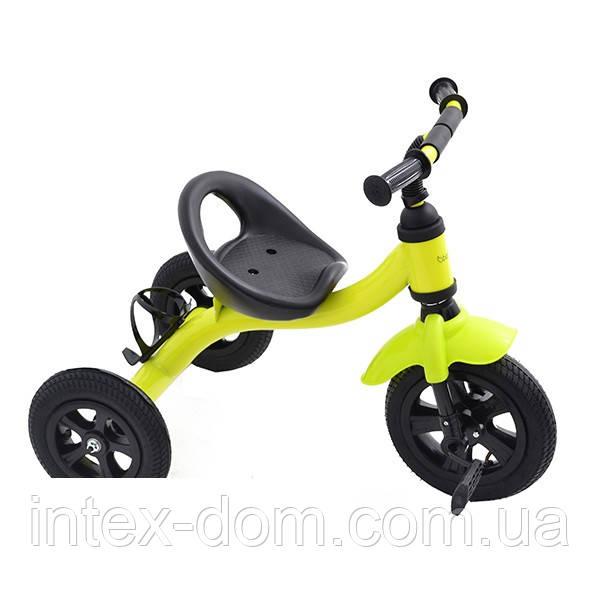 Триколісний велосипед Bambi M 2382G (Салатовий)