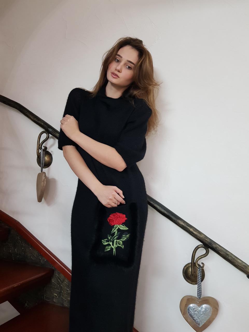 длинное вязаное платье продажа цена в одессе платья женские от