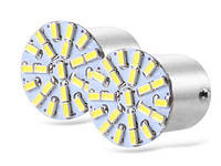 Светодиодная лампа BA15S 1156-3014-22SMD белая