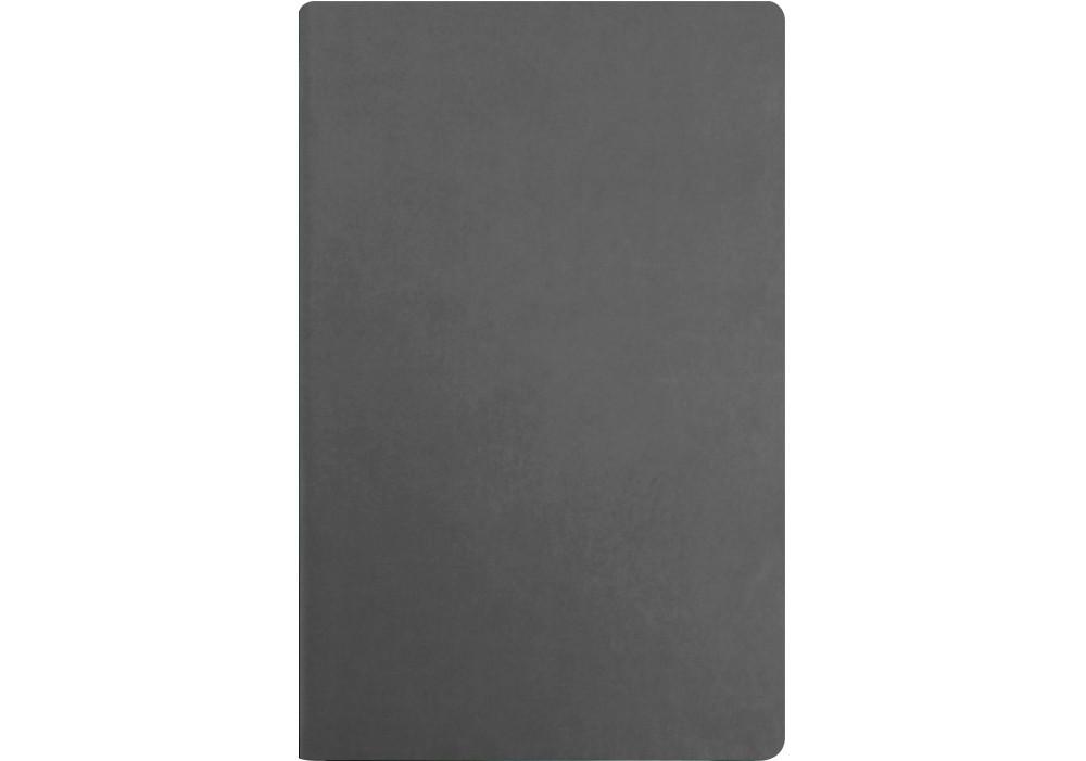 Деловая записная книжка А5 Vivella, твердая обложка, белый нелинованный блок, цвет - серый