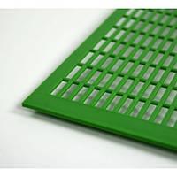 Разделительная решетка Дадан Лангстрот пластик.гориз.грубая (41,8 х 49,0 см)