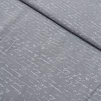 Ткань с письмом, буквами на сером фоне, ширина 145 см, фото 1