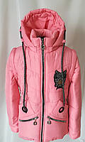 Куртка для девочки на весну от производителя 34-44 розовый 3e3666ed5b3ba