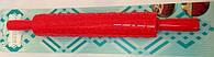 Скалка текстурная с ручками Сердечки и звездочки