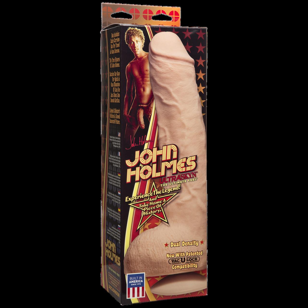 Фаллоимитатор гигант реалистик John Holmes Джон Холмс (Vac-u-lock)