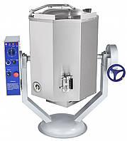 Котел пищеварочный Abat КПЭМ-100-ОМР (кран, миксер, ручное опрокидывание)