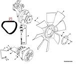 Система охлаждения двигателя John Deere