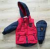 Куртка детская для мальчика интернет магазин    20-28 красный, фото 2