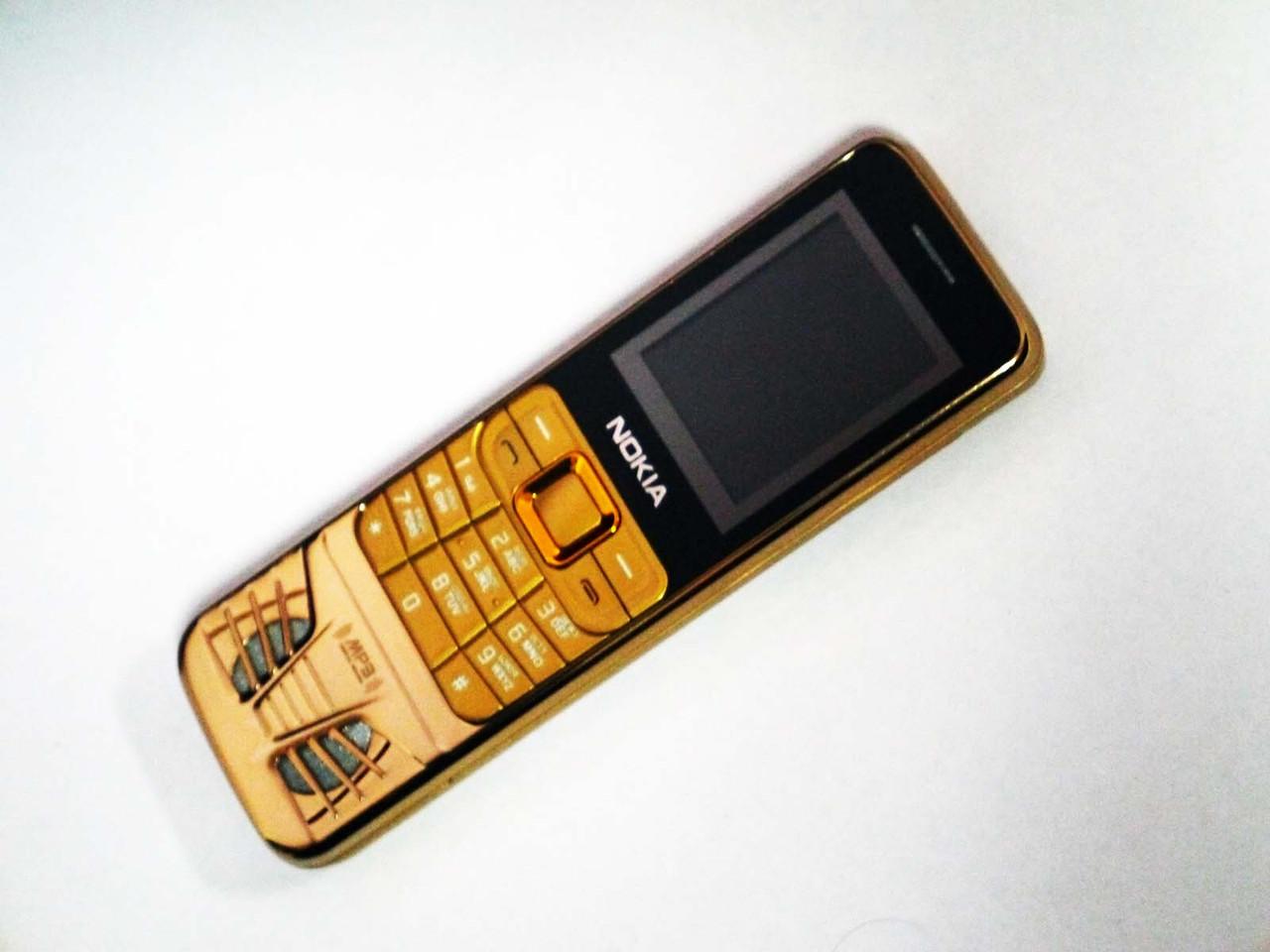 """Телефон Nokia S830 Золотой - 1.8"""" -2Sim - 2 батарея - Мощный динамик"""