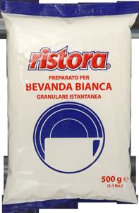 Сухие сливки в гранулах ristora bevanda bianca 500 г