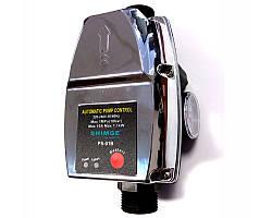"Контроллер давления электронный SHIMGE PS-01B 1,1кВт Ø1"""