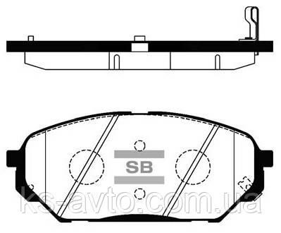 Гальмівні колодки HI-Q SP 1203