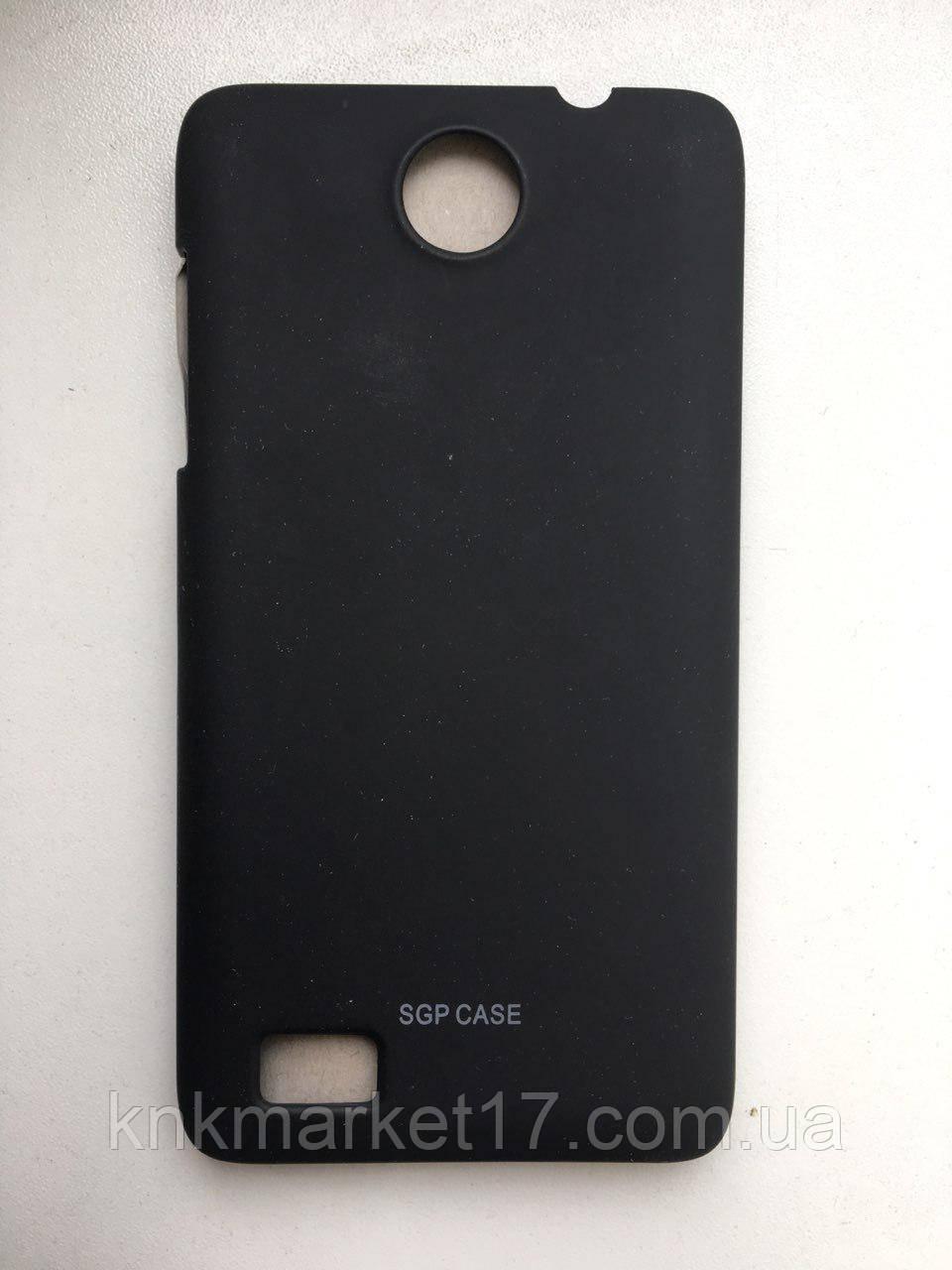 Пластикова накладка для Lenovo А766 Чорна