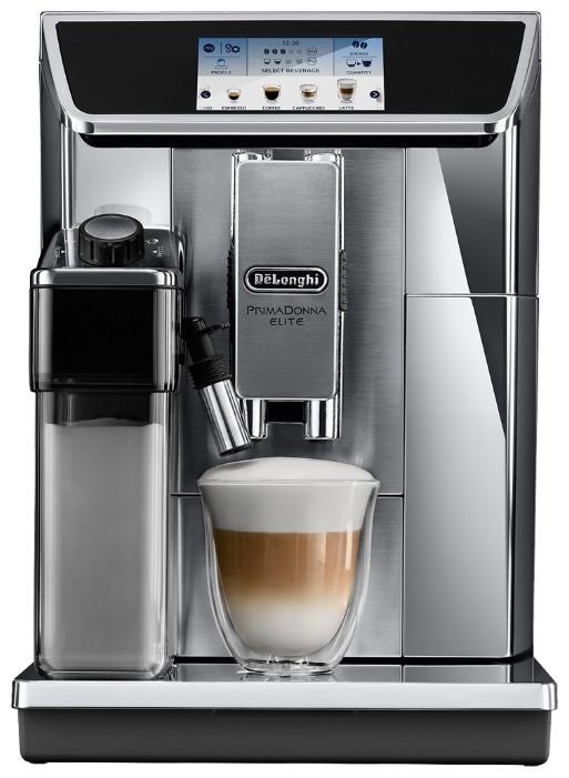 Кофемашина  Delonghi PrimaDonna Elite ECAM 650.75.MS