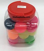 Мяч прыгун Цветной средний  26 шт №241 (Китай)