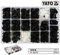 Набор крепежа обшивки салона NISSAN YATO Польша 418 штук YT-06657
