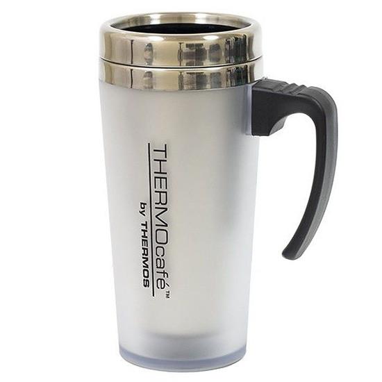 Термокружка Thermos QS1904, 420 мл, серая (термочашка, термостакан)