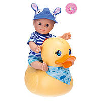 Кукла для купания с большой уткой 30 см SCHILDKRÖT 610300001