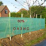 Сетка затеняющая 8м 60% Венгрия защитная, маскировочная  - на метраж., фото 10