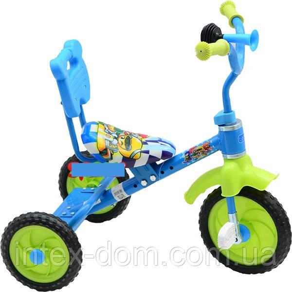 Трехколесный велосипед Bambi M1190 Голубой