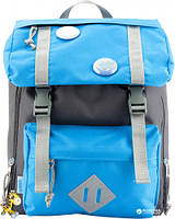 5d4defc4ff25 Рюкзак дошкольный Kite Kids 24x26x11 см 7 л для мальчиков Серо-голубой  K18-543XXS