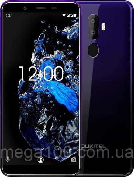 """Смартфон Oukitel U25 Pro  (""""5.5 ;ПАМЯТИ 4/64; емкость акб 3200mAh) фиолетовый градиент"""
