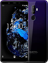 """Смартфон Oukitel U25 Pro (""""5.5 ;ПАМ'ЯТІ 4/64; ємність акб 3200mAh) фіолетовий градієнт"""