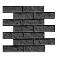 "Пластиковая форма для 3d панелей ""Кирпичи"" 51.2*45.2 (форма для 3д панелей из абс пластика), фото 1"